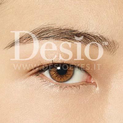 فروش لنزEsperso (عسلی نارنجی دوردار) برند دسیو بهمراه قیمت امروز لنز رنگی  و قیمت امروز لنز طبی