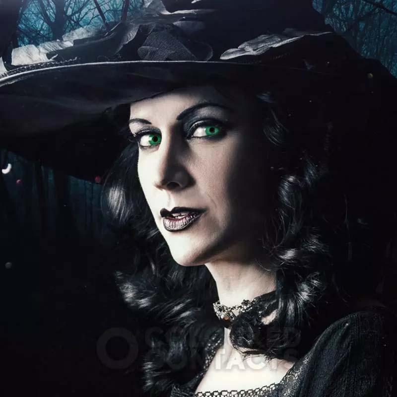رنگ Green Witch برند کلیرویژن رنگی  فانتزی