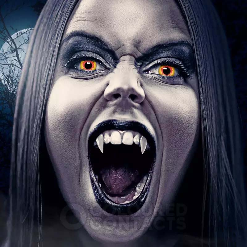 رنگ Vampire برند کلیرویژن رنگی  فانتزی