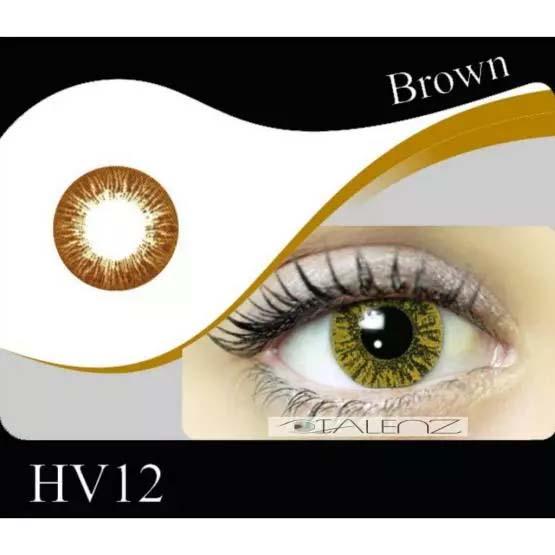 فروش HV 120 (قهوه ای بدون دور)   بهمراه قیمت امروز لنز طبی و قیمت امروز لنز رنگی