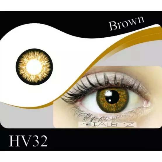 فروش HV 320 (قهوه ای عسلی)   بهمراه قیمت امروز لنز طبی و قیمت امروز لنز رنگی