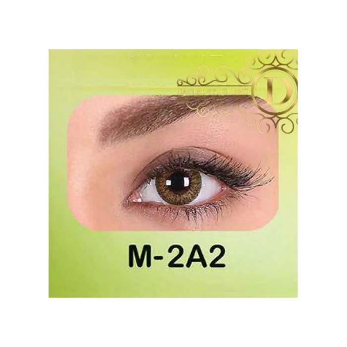فروش لنز M2A2 (قهوه ای دوردار)   بهمراه قیمت امروز لنز طبی و قیمت امروز لنز رنگی