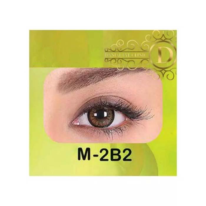 فروش لنز M2B2 (قهوه ای دوردار)   بهمراه قیمت امروز لنز طبی و قیمت امروز لنز رنگی