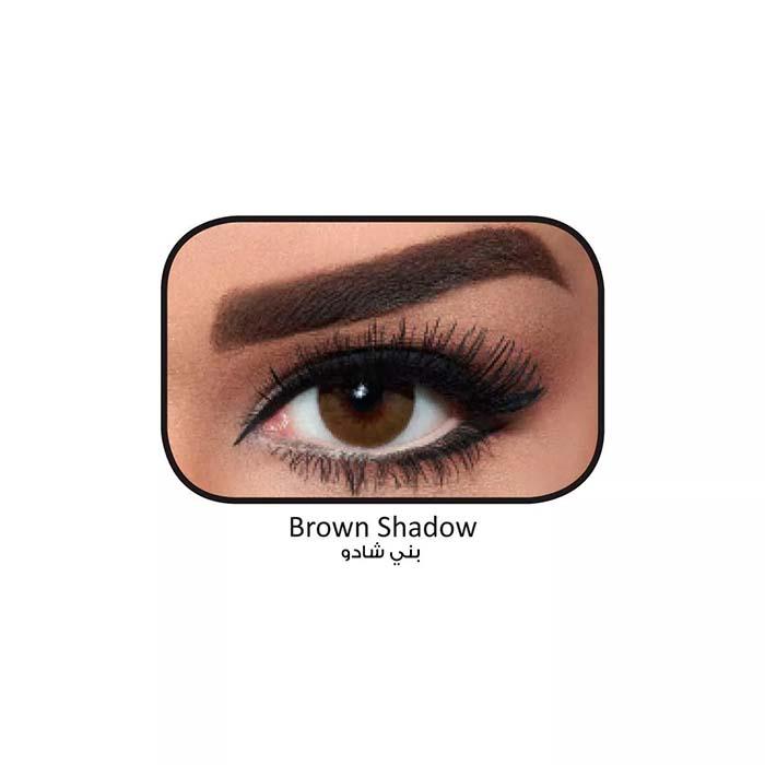 فروش لنزBrown Shadow (قهوه ای عسلی دوردار) برند بلا  بهمراه قیمت امروز لنز رنگی  و قیمت امروز لنز طبی