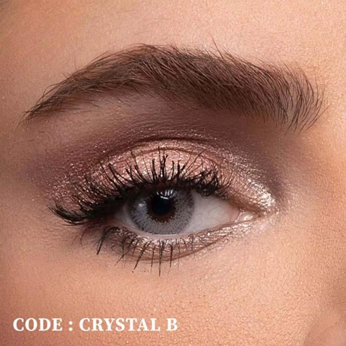 فروش لنز Crystal B (یخی بدون دور)  بهمراه قیمت امروز لنز رنگی  و قیمت امروز لنز طبی