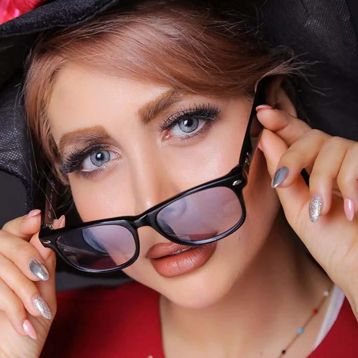 فروش لنز G0821 (یخی)  برند کلیرویژن رنگی بهمراه قیمت امروز لنز رنگی و قیمت امروز لنز طبی