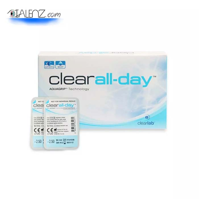 خرید لنز طبی لنز طبی فصلی آرین (Clear All Day)